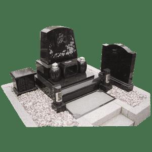 墓石_洋型二段