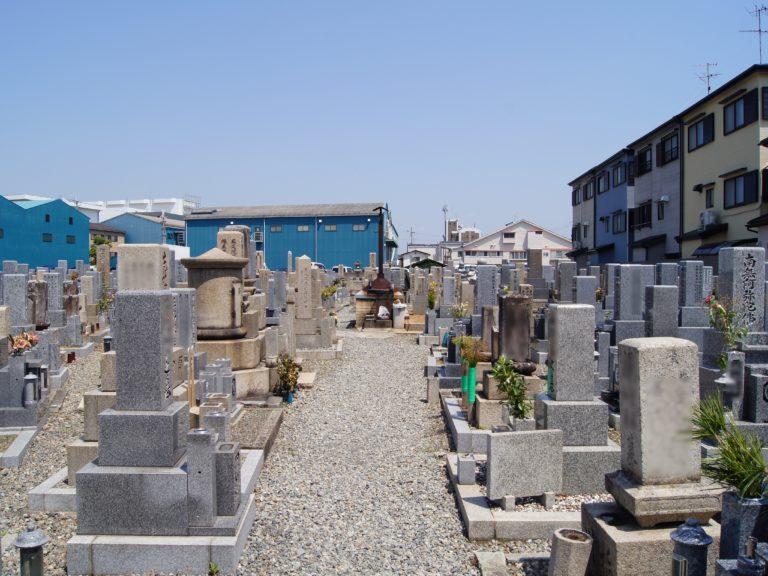 北河原墓地の画像1