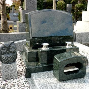 M1H洋型墓石の建立例