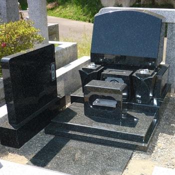 RYO洋型墓石の建立例